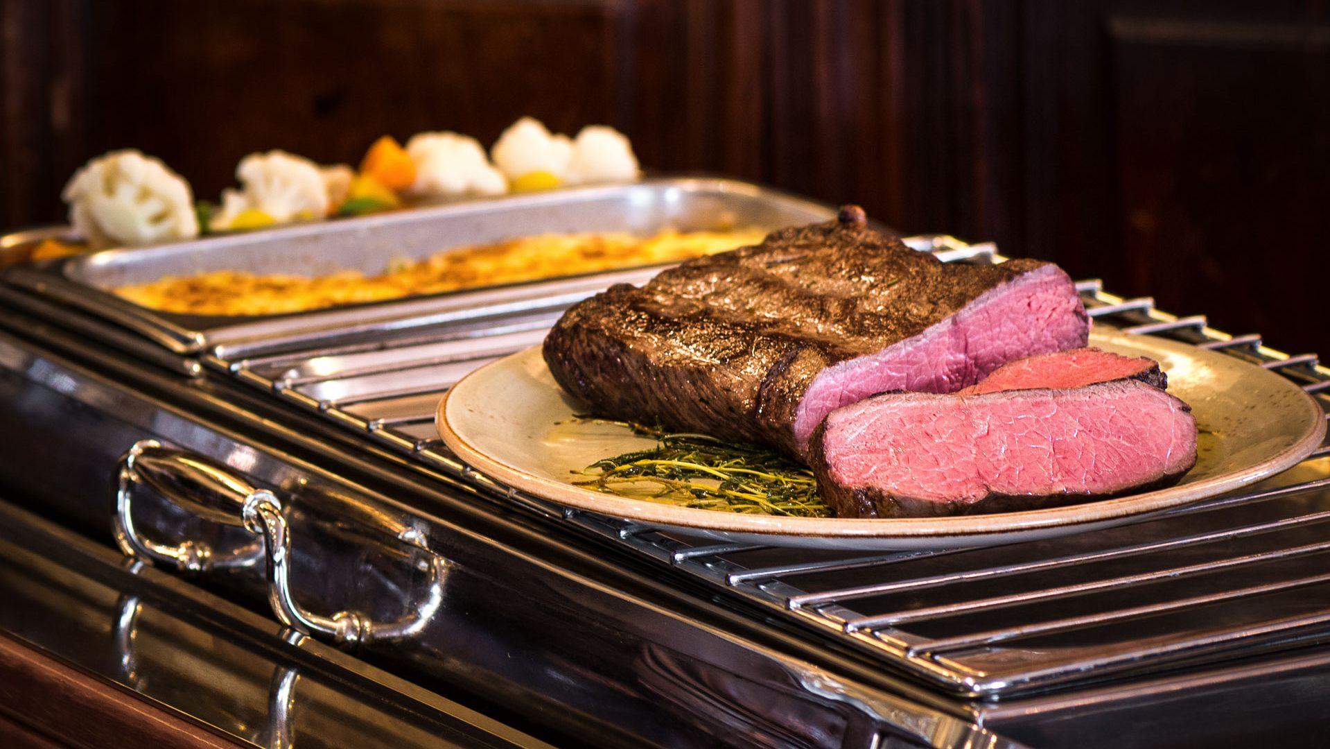 Roastbeef und Irische Spezialitäten