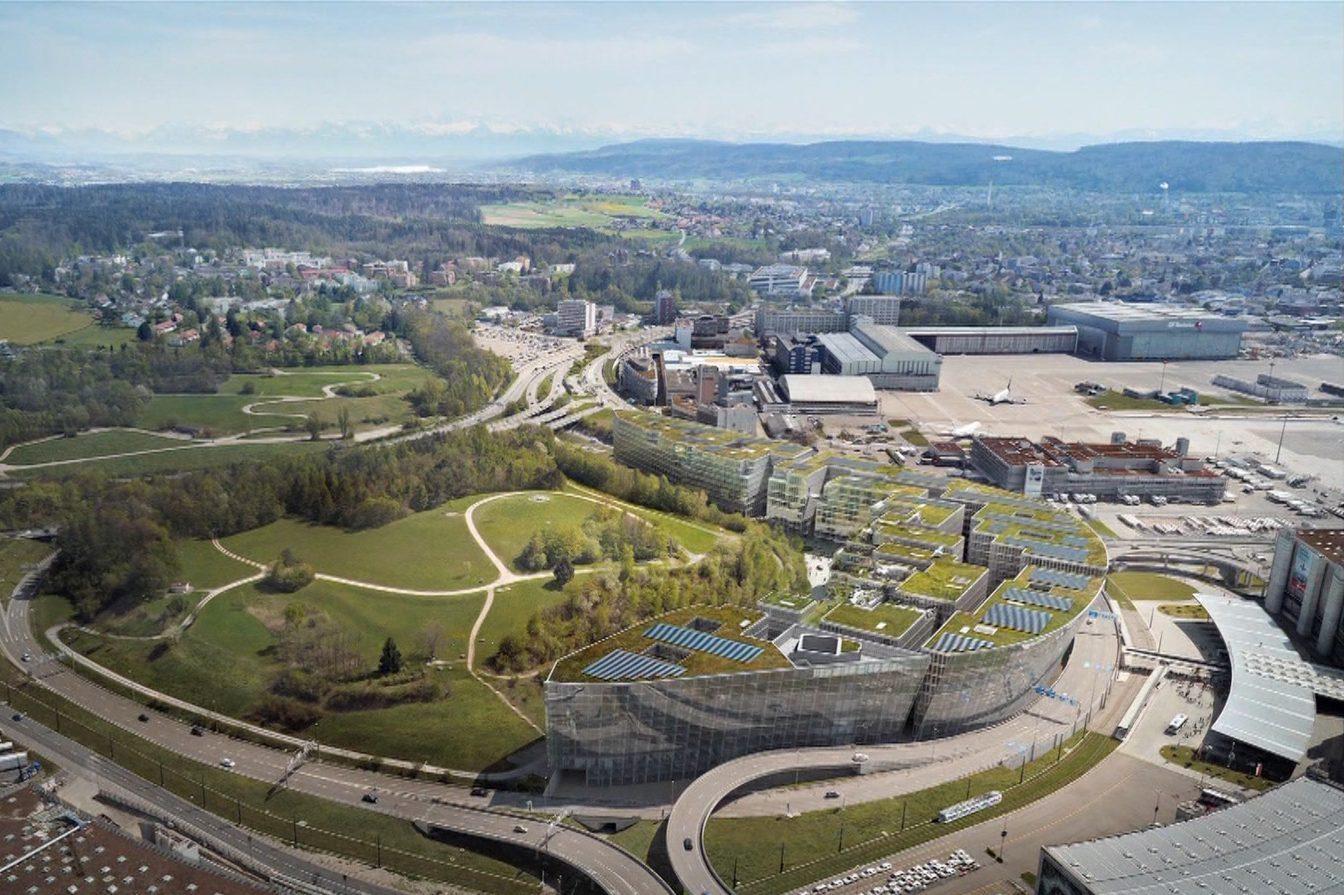 The Circle am Flughafen Zürich
