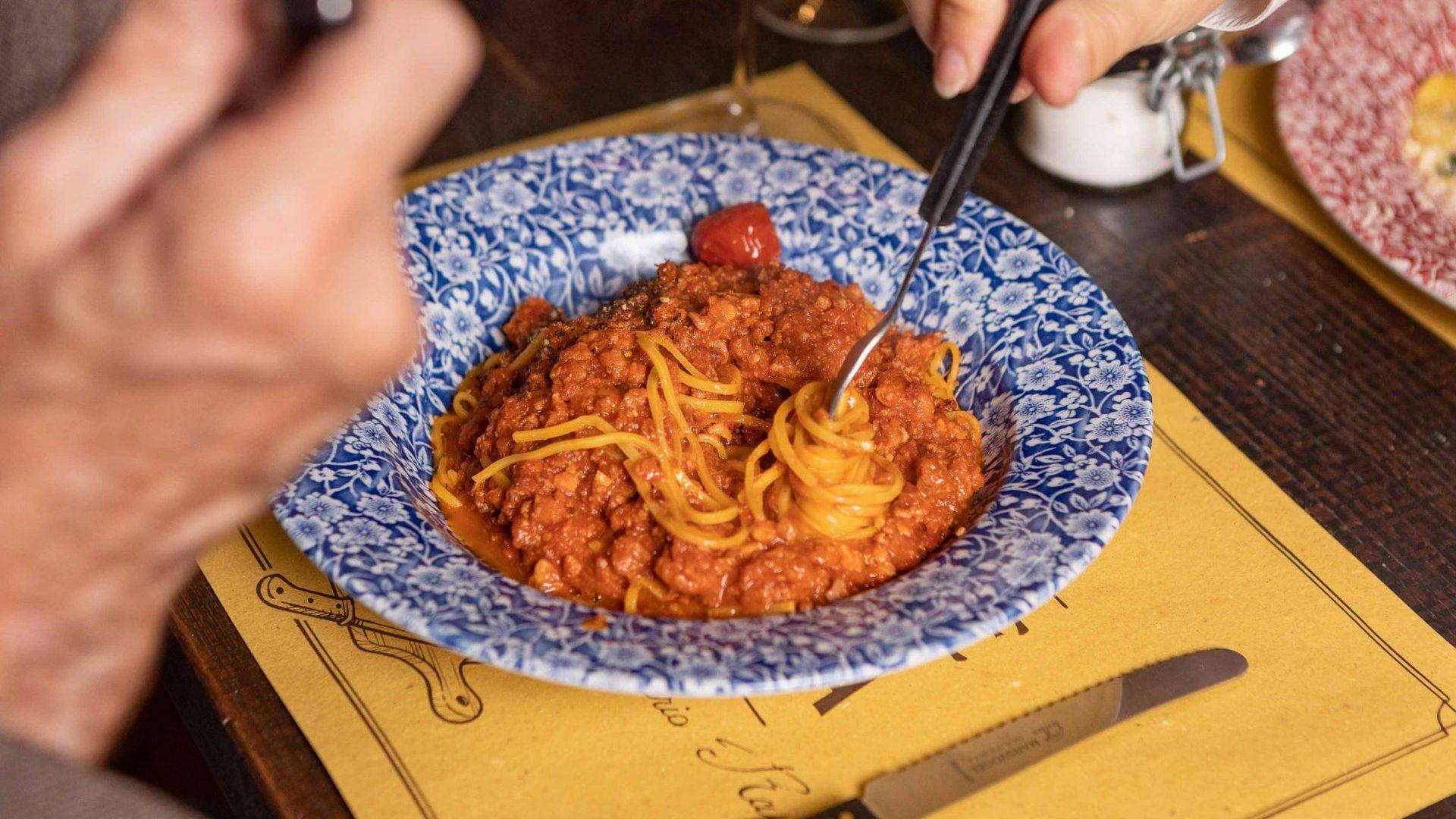 Spaghetti Chitarra in La Bottega di Mario